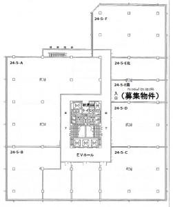間取り図5階南